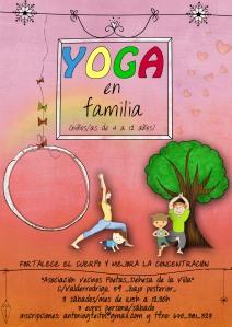 Yoga en la asociación de vecinos