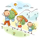 31729496-cartoon-family-hiking-in-the-mountains