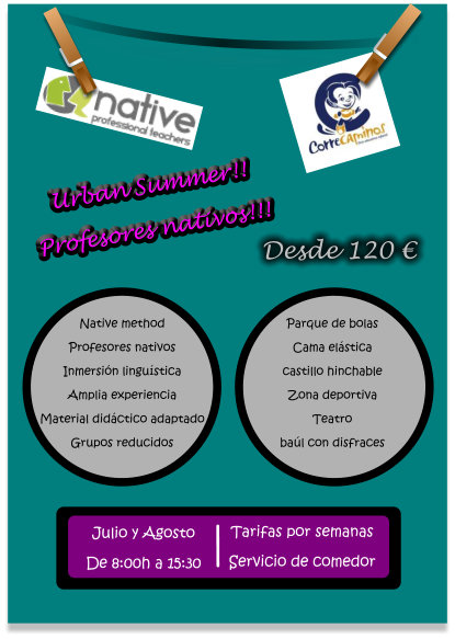 campamento NATIVE-CORRECAMINOS
