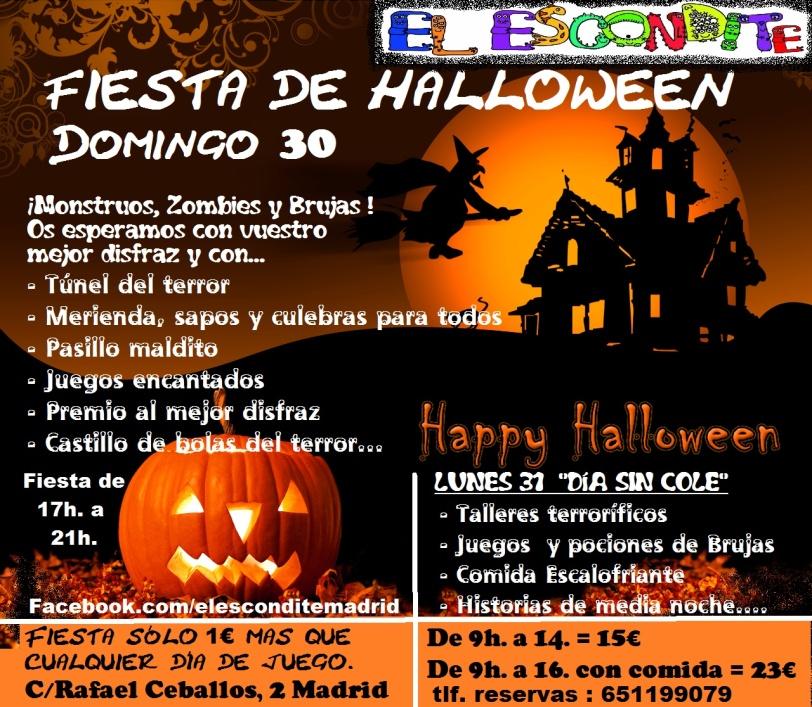 cartel-halloween-el-escondite
