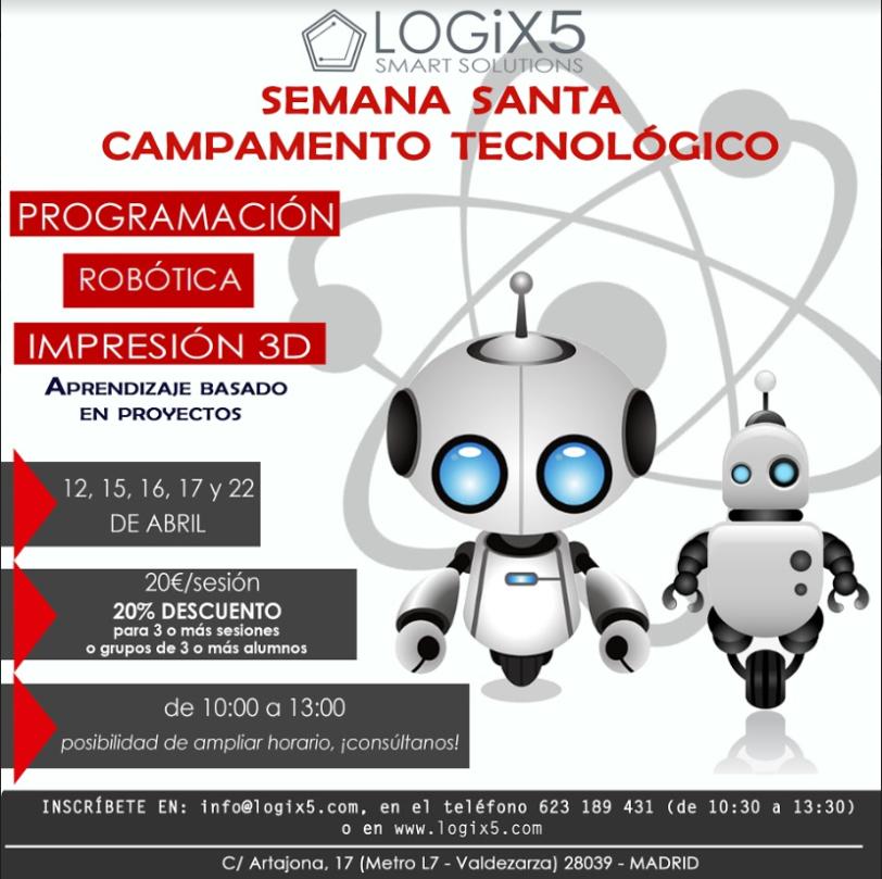 LOGIX5 ROBOTICA SEMANA SANTA 2019